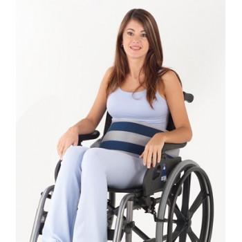 Cinto abdominal para cadeira c/ fecho em clip