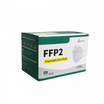 Máscaras de adulto de Alta Filtragem FFP2 (caixas de 45 máscaras)