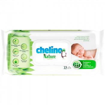 Toalhitas de Criança Chelino Nature (Bolsa 72un)