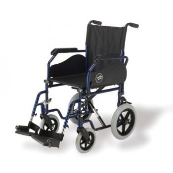 Cadeiras de Rodas Manual Encartável em Aço Azul - Breezy 90 (Autopropulsão nos modelos de 24'')