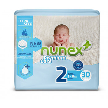 Fralda de Bebé Nunex Premium Care