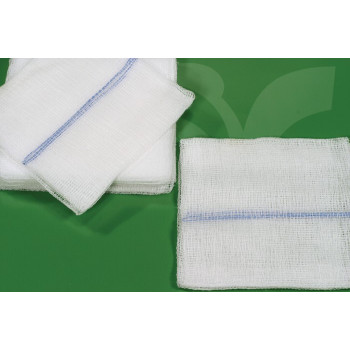 Compressas em não Tecido-67% Viscose+33% Poliéster-Esterilizadas 30g/m2
